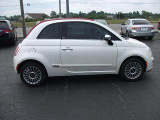 Used 2015 Fiat 500 Lounge     Power roof