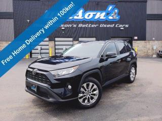 Used 2019 Toyota RAV4 XLE Upgrade - Leather, Sunroof, Heated Seats+Steering, Power Liftgate, Blindspot Monitor and More! for sale in Guelph, ON