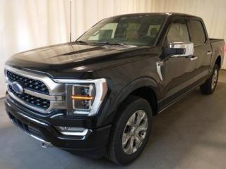 New 2021 Ford F-150 4x4 Platinum-145 for sale in Regina, SK