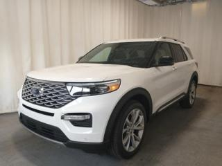 New 2021 Ford Explorer Pearl White & Fully Loaded! for sale in Regina, SK