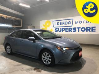 Used 2020 Toyota Corolla LE * Back Up Camera * Blind Spot Assist * Heated Cloth Seats * Cruise Control * Steering Wheel Controls * Hands Free Calling * AM/FM/SXM/USB/CD/Aux/Bl for sale in Cambridge, ON