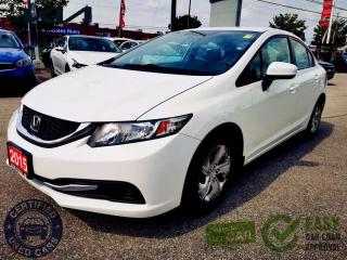 Used 2015 Honda Civic 4dr Auto LX|CVT|KEYLESS|BACKUP CAMERA|HEATED SEATS for sale in North York, ON