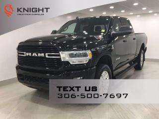 Used 2019 RAM 2500 Big Horn Sport Crew Cab   Sunroof   Navigation   for sale in Regina, SK