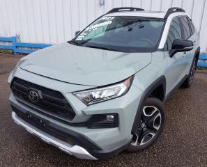 Used 2021 Toyota RAV4 Trail AWD *LEATHER-SUNROOF* for sale in Kitchener, ON