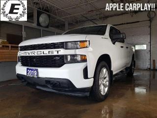 Used 2019 Chevrolet Silverado 1500 Custom  APPLE CARPLAY!! for sale in Barrie, ON