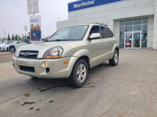 Used 2009 Hyundai Tucson LTD LEATHER/SUNROOF/HEATEDSEATS/BACKUPCAM for sale in Edmonton, AB