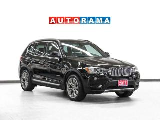 Used 2017 BMW X3 xDrive Navigation Leather Sunroof Backup Camera for sale in Toronto, ON