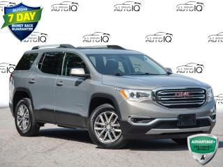 Used 2019 GMC Acadia SLE-2 6 Passenger       All Wheel Drive for sale in St Catharines, ON