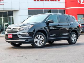Used 2018 Honda Pilot LX for sale in Milton, ON