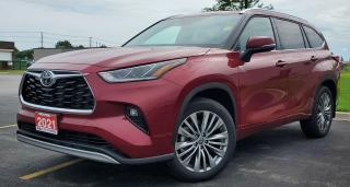 New 2021 Toyota Highlander LIMITED  for sale in Sarnia, ON