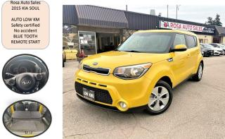 Used 2015 Kia Soul Auto EX low km NO ACCIDENT SAFETY REMOTE START for sale in Oakville, ON
