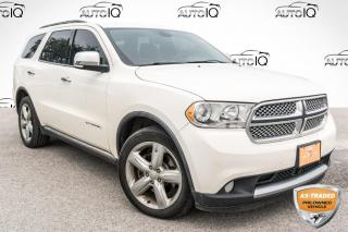 Used 2011 Dodge Durango Citadel SOLD AS TRADED, YOU CERTIFY, YOU SAVE!!! for sale in Barrie, ON