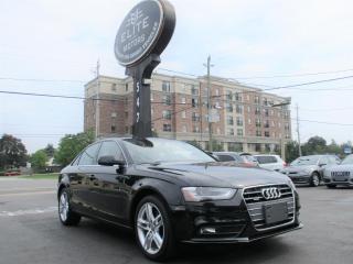 Used 2014 Audi A4 4dr Sdn Man Technik quattro for sale in Burlington, ON