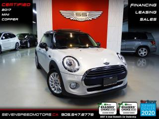 Used 2017 MINI Cooper Hardtop ACCIDENT FREE | CERTIFIED | FINANCE | 9055478778 for sale in Oakville, ON