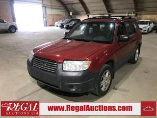 Used 2008 Subaru Forester ANNIVERSARY EDITION 4D UTILITY AWD for sale in Calgary, AB