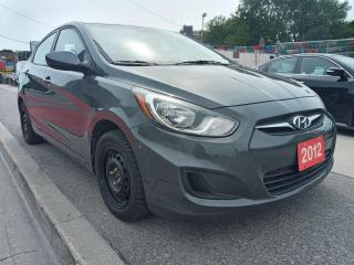 Used 2012 Hyundai Accent GL-EXTRA CLEAN-ECO-AUX-GAS SAVER-MUST SEE!!! for sale in Scarborough, ON