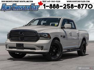 Used 2017 RAM 1500 SPORT | CREW | 4X4 | CAM | 8.4 | BLUETOOTH & MORE! for sale in Milton, ON