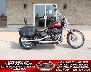 Used 2009 Harley-Davidson FXSTBI Night Train BIG WHEELS, BIGGER SOUND, BOLD LOOKS & RAW POWER for sale in Headingley, MB