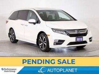 Used 2019 Honda Odyssey Touring, 8 Seater, Navi, Sunroof, Android Auto! for sale in Brampton, ON