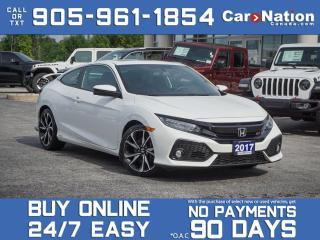 Used 2017 Honda Civic COUPE Si| NAVI| SUNROOF| for sale in Burlington, ON