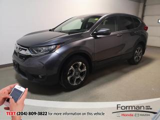 Used 2019 Honda CR-V EX-L|Htd Lthr|Pwr Tailgate|Sunroof|Local|Loaded for sale in Brandon, MB