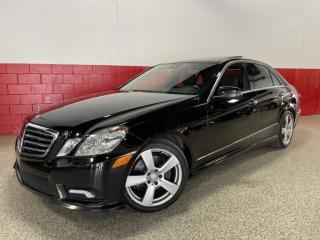 Used 2010 Mercedes-Benz E-Class 3.5L 4MATIC NAVIGATION PANO ROOF PUSH START HK SOUND for sale in North York, ON