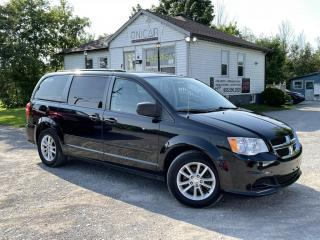 Used 2014 Dodge Grand Caravan Stow N Go Backup Cam DVD Bluetooth Maintained for sale in Sutton, ON