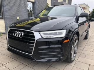 Used 2016 Audi Q3 Quattro 2.0T Technik for sale in Nobleton, ON