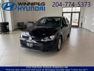 Used 2017 Volkswagen Golf COMFORTLINE for sale in Winnipeg, MB
