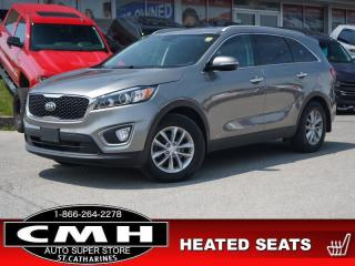 Used 2018 Kia Sorento LX Turbo  CAM P/SEAT HTD-SEATS 17-AL for sale in St. Catharines, ON