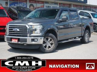 Used 2016 Ford F-150 XLT  NAV CAM BLUETOOTH P/SEAT TOW-PKG 18-AL for sale in St. Catharines, ON