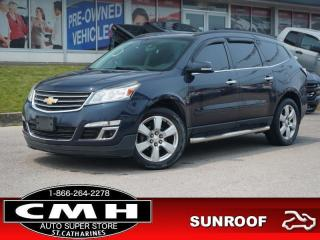 Used 2016 Chevrolet Traverse LT w/1LT  CAM ROOF HTD-SEATS 20-AL for sale in St. Catharines, ON