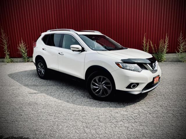 2016 Nissan Rogue SL, AWD, NAVI, B-CAM, PANO ROOF, LEATHER