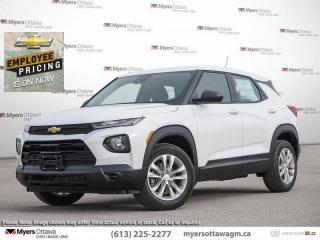 New 2021 Chevrolet TrailBlazer LS  -  Android Auto for sale in Ottawa, ON