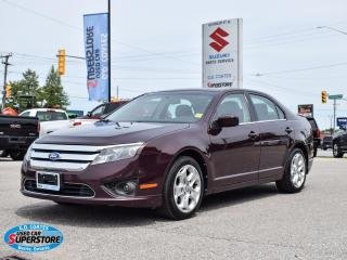 Used 2011 Ford Fusion SE ~Power Moonroof ~Power Seat ~Bluetooth ~A/C for sale in Barrie, ON