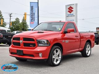 Used 2017 RAM 1500 R/T ~Nav ~Cam ~Heated Seats/Wheel ~Bluetooth ~22's for sale in Barrie, ON