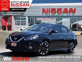 Used 2018 Nissan Sentra 1.6 SR Turbo CVT  - LEATHER | NAVIGATION | BLUETOOTH | KEYLESS ENTRY for sale in Kitchener, ON