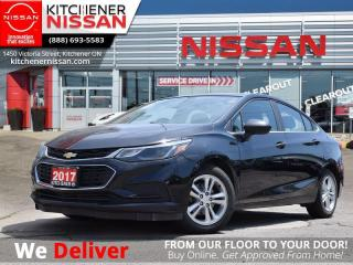 Used 2017 Chevrolet Cruze LT   - BACKUP CAM | REMOTE START | KEYLESS ENTRY for sale in Kitchener, ON
