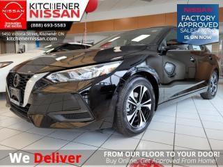New 2021 Nissan Sentra SV  - Sunroof - $156 B/W for sale in Kitchener, ON
