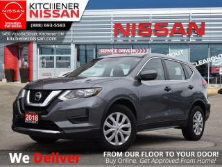Used 2018 Nissan Rogue FWD S  LOW KM | ONE OWNER | KEYLESS ENTRY for sale in Kitchener, ON