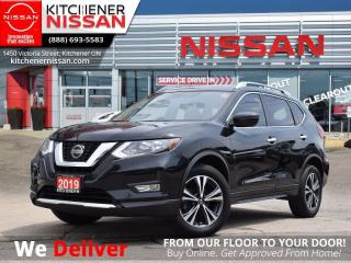 Used 2019 Nissan Rogue AWD SV w/Moonroof & Technology Pkg   - NAVIGATION | 360 CAM | CLEAN CARFAX for sale in Kitchener, ON