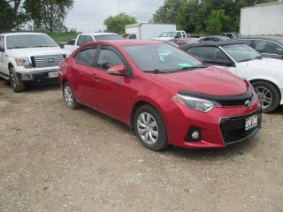 Used 2015 Toyota Corolla S ONLY 26500KM for sale in Waterloo, ON