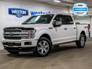 Used 2019 Ford F-150 Platinum+4X4+NAVIGATION+CAMERA+MOONROOF+LEATHER for sale in Toronto, ON