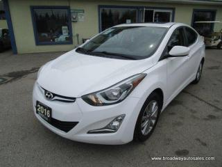 Used 2016 Hyundai Elantra GREAT VALUE SPORT-MODEL 5 PASSENGER 1.8L - DOHC.. ACTIVE-ECO-PACKAGE.. HEATED SEATS.. BACK-UP CAMERA.. POWER SUNROOF.. BLUETOOTH SYSTEM.. for sale in Bradford, ON