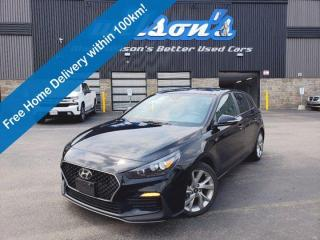 Used 2019 Hyundai Elantra GT N Line - Leather, Navigation, Sunroof, Heated & Cooled Seats, Bluetooth, Alloy Wheels and More! for sale in Guelph, ON