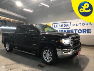 Used 2017 GMC Sierra 1500 SLE Crew Cab * 5.3L V8 4X4 * Projection Apple Car Play/Android Auto * Back Up Camera * Remote Start * Park Assist *  Power Adjusting Pedals * Heated C for sale in Cambridge, ON