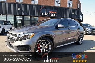 Used 2017 Mercedes-Benz GLA GLA45 AMG 4M I NO ACCIDENTS I LOW KM for sale in Concord, ON