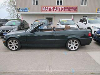 Used 2006 BMW 3 Series Cabriolet 330Ci CONVERTIBLE for sale in Waterloo, ON