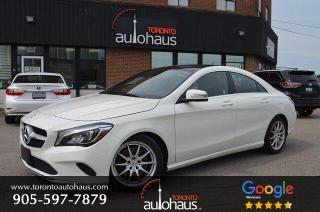 Used 2018 Mercedes-Benz CLA-Class 250 4MATIC I LEATHER I SUNROOF I NAVI for sale in Concord, ON
