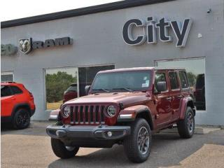 New 2021 Jeep Wrangler 80th Ann. | HardTop |LED lights| Cold Weather #218 for sale in Medicine Hat, AB